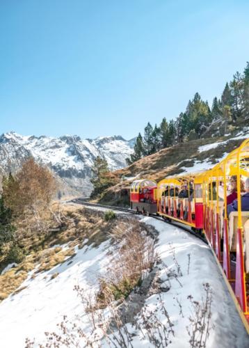 Train neige 23